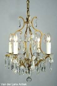 antique chandeliers crystal for brass chandelier together with painted wood six arm antique brass and crystal chandelier