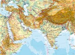 maps west and south asia physical map diercke international Map Of Asia Atlas diercke karte west and south asia physical map map of asia to label