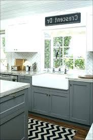 light grey kitchen cabinet white