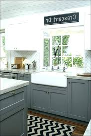 light grey kitchen cabinet white