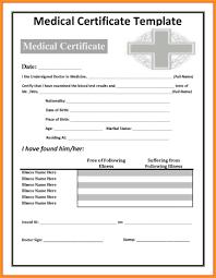 Sample Medical Certificate Of Good Health Copy Sample Medical Leave