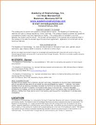 Cover Letter Examples Of Cosmetology Resumes Examples Of