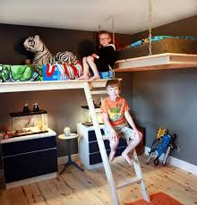 loft bed hanging bunk bed suspended bed hanging bed This site has TONS of  DIY ideas