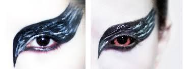 black swan makeup closeup photo 13
