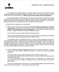 Employer Adverse Action