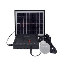 Unique Products Mini Project Solar Lighting System From China