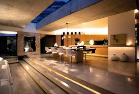 modern mansion dining room. Picture Of Open Dining Room In The Modern Mansion