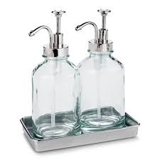 Cool soap dispenser Glass Designer Daily Soap Dish Bathroom Accessories Target
