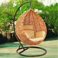 high quality indoor swing chair outdoor hanging hammock rocking garden rattan basket patio swingsoutdoor cushions furniture