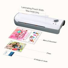 a4 Switch Laminator co Size Machine 228mm A4 Max Photos Office With Cards Products Documents Quick Thermal l407-a Warm-up Jam-release For Cold 3-min Amazon uk Laminating Bonsaii And