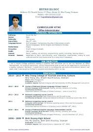 Sample Resume For Fresh Graduates Teacher With No Experience