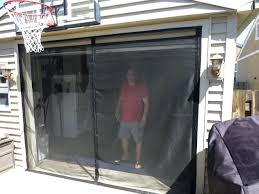 2 car garage screen door garage door screens photo door screens trademark 2 car garage screen