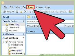 new outlook 3 ways to change microsoft outlook password wikihow