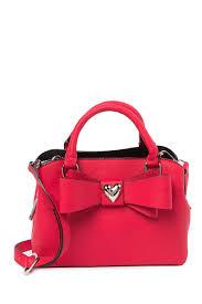 betsey johnsonmini faux leather satchel