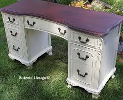 zle design michigan americanpaintcompany antique white home plate dollar bill chalk clay painted vanity desk