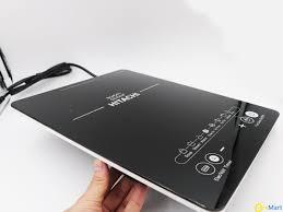 Giá [Tặng nồi lẩu] Bếp từ đơn Hitachi model DH-15T7 (màu đen) siêu bền Điện