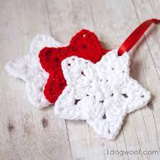 Crochet Christmas Ornaments Patterns Gorgeous Christmas Star Crochet Ornament Pattern FaveCrafts