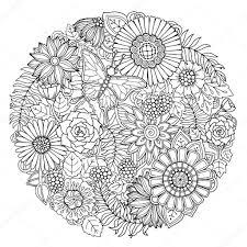 Mandala Kleurplaten A4