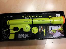 k9 kannon dog tennis ball launcher thrower cannon shoots up to 75ft