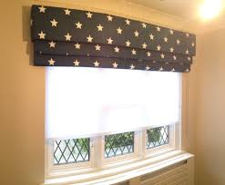 Star Fabric Roman Blind Sheer Roller Blind