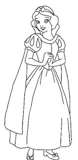 Disegno Di Biancaneve Principessa Da Colorare Disegni Da Colorare