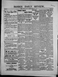 Bisbee Daily Review 1902 02 16 Bisbee Daily Review Arizona