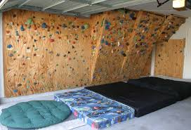 Small Picture Home Climbing Wall Ideas The wall in february 2004 Bouldering