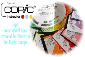 Copic Color Blending Chart Copic Marker Europe My Diy Copic Color Wheel Book