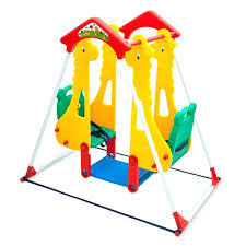 Twin Baby Swing Set Pop Up Swing Double Juniors Toys Books ...