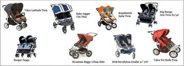 Stroller Comparison Double Side By Sides With Infant Seat