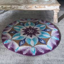 this is not a round mandala rug but it could ve been