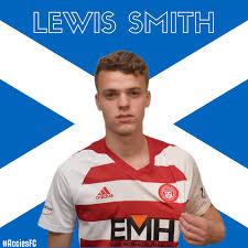Lewis Smith Makes Scotland u21 Debut - Hamilton Academical Website