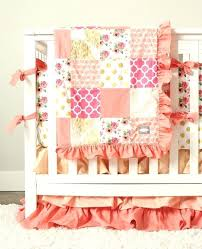 peach crib bedding image 0 and mint peach crib bedding