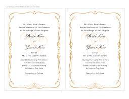 Wedding Template Microsoft Word 6 Free Microsoft Word Invitation Templates Andrew Gunsberg