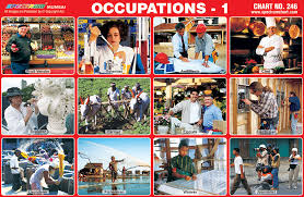Occupation Chart Pictures Spectrum Educational Charts Chart 246 Occupation 1