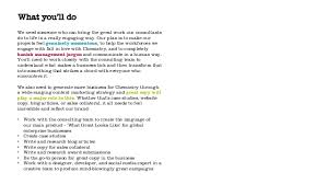 8 copywriter job description