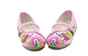 Tianrui Crown Children Girl's The <b>Magpies Embroidery</b> Mary-Jane ...