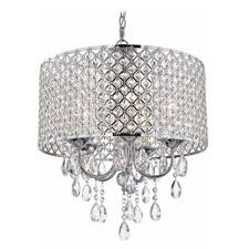 widely used crystal chrome chandelier within crystal chrome chandelier pendant light with crystal beaded drum