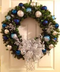 ... At Returned Also Front Feature Draw Bulb Use Target Consequence Just  Vast Blue Christmas Wreaths ...
