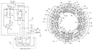 patent us6255755 single phase three speed motor shared patent drawing