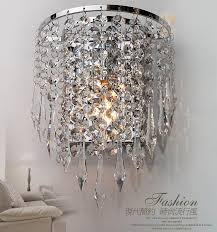 modern contemporary k9 crystal wall light led wall mounted lamp inside wall chandelier lights ideas