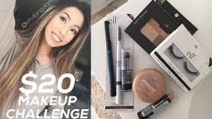 20 dollar makeup challenge tutorial vlog haul 21 75
