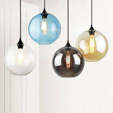 kitchen pendant lighting bar glass