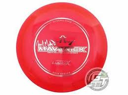 Details About New Dynamic Discs 2019 Lucid X Maverick 175g Clear Silver Foil Driver Golf Disc