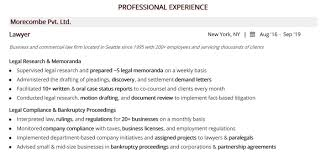 Legal Resume Complete 10 Legal Resume Examples Samples