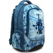 <b>4ALL Ранец школьный School</b> Вертолет