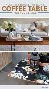 5 Tips For Choosing The Right Coffee Table For Your Space How Tos Choosing Coffee Space Table Tips Tos Coffee Table Table Garden Coffee Table
