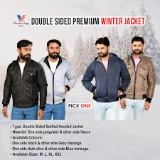american indigo double sided premium winter jacket pick any 1