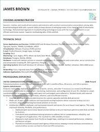 Systems Admin Resumes Systems Administrator Resume Beautiful System Administrator Sample