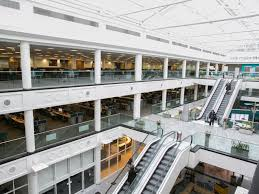google head office pictures. most of our teams branch off from the main atrium. google head office pictures n